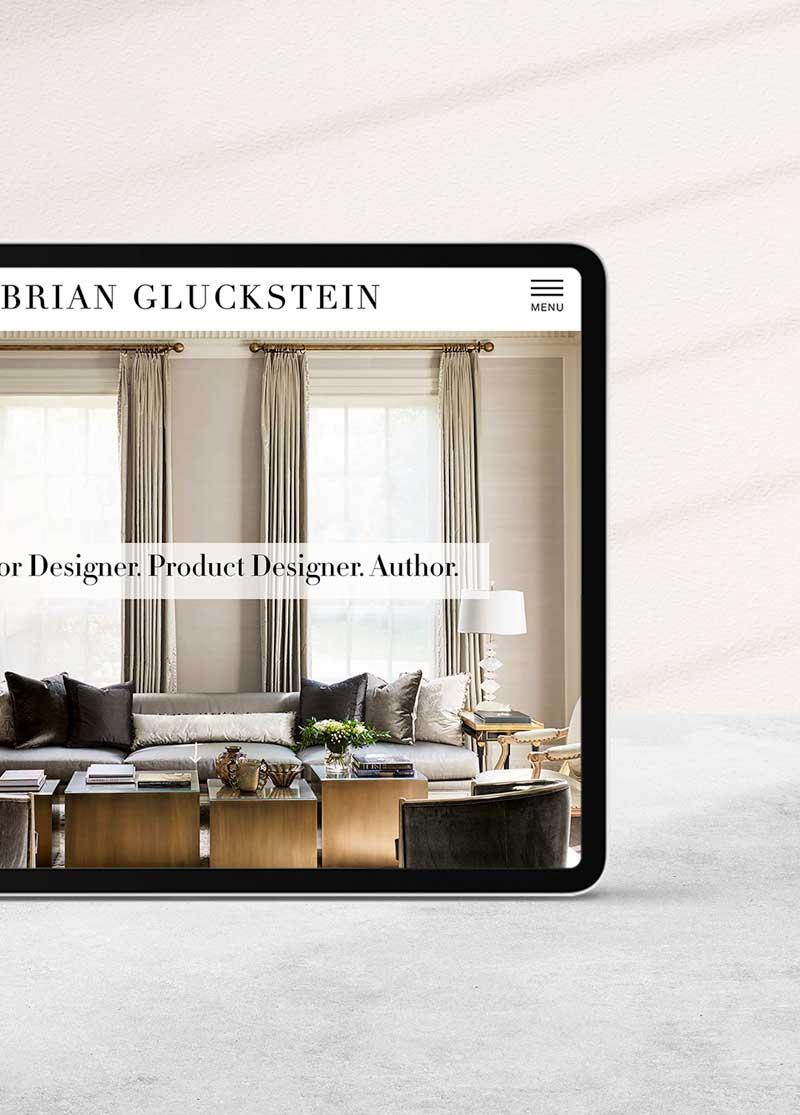 Brian Gluckstein Website