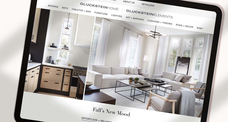 Gluckstein Home Website | GlucksteinHome Website Design